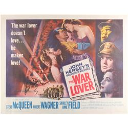"Robert Wagner Signed Vintage 1962 ""The War Lover"" 22x28 Movie Poster (JSA COA)"