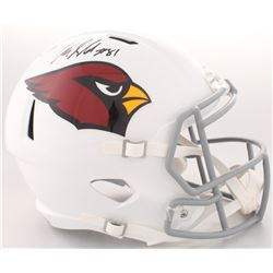 Anquan Boldin Signed Cardinals Full-Size Speed Helmet (Beckett COA)