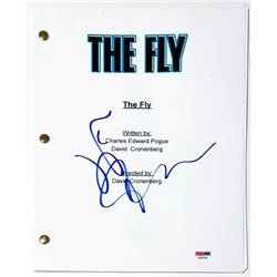 "Jeff Goldblum Signed ""The Fly"" Full Movie Script (PSA COA)"