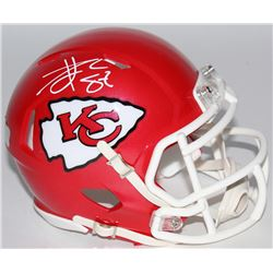 Travis Kelce Signed Chiefs Mini Speed Helmet (Radtke COA)