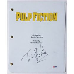 "Tim Roth Signed ""Pulp Fiction"" Full Movie Script (PSA COA)"