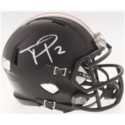 Terrelle Pryor Signed Ohio State Buckeyes Mini Speed Helmet (Radtke COA)