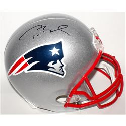 Tom Brady Signed Patriots Full-Size Helmet (Tristar Hologram  Fanatics Hologram)