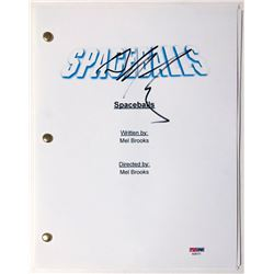 "Bill Pullman Signed ""Spaceballs"" Full Movie Script (PSA COA)"