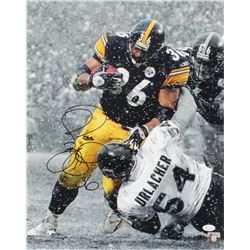 Jerome Bettis Signed Steelers 16x20 Photo (JSA COA)
