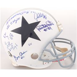 """LE Cowboys Full-Size Authentic On-Field Helmet Signed by (7) with Bob Lilly, Randy White, Ed """"Too Ta"""
