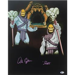 "Alan Oppenheimer Signed ""He-Man and the Masters of the Universe"" 16x20 Photo Inscribed ""Skeletor"" (B"