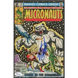 "Stan Lee Signed 1981 ""The Micronauts"" Issue #32 Marvel Comic Book (JSA COA  Lee Hologram)"