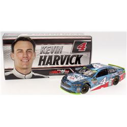 Kevin Harvick Signed NASCAR 2017 #4 Busch Beer NA Color Chrome Fusion - 1:24 Premium Action Diecast