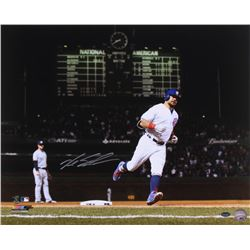 Kyle Schwarber Signed Cubs 16x20 Photo (Schwartz Sports COA)