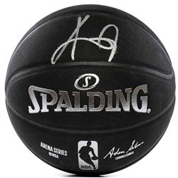 Kyrie Irving Signed NBA Arena Series Basketball (Panini COA)