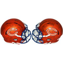 1985 Bears LE Full-Size Blaze Speed Helmet Team-Signed by (31) with Mike Ditka, Jim McMahon, Mike Si