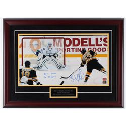"""Brad Marchand Signed Bruins 20x27 Custom Framed Photo Display Inscribed """"2011 Staney Cup Champions"""""""