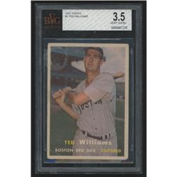 1957 Topps #1 Ted Williams (BVG 3.5)