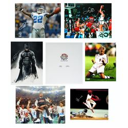 Multi Sports  Celebrity Signed Mystery Photo Collection – Series 1 (3 Autograph Photos Per Box)