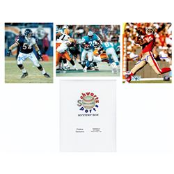 Schwartz Sports Football Hall of Famers Signed Mystery Box 8x10 Photo Series 2 (Limited to 100) - **
