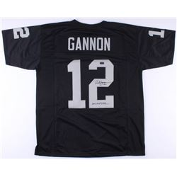 "Rich Gannon Signed Raiders Jersey Inscribed ""NFL MVP 2002"" (Radtke COA)"