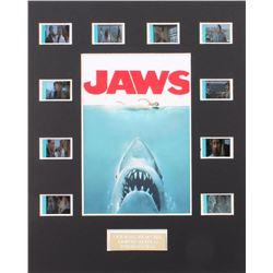 """Jaws"" Limited Edition Original Film/Movie Cell Display"