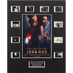 """Iron Man"" Limited Edition Original Film/Movie Cell Display"