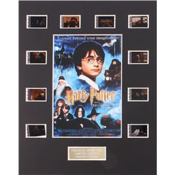 """Harry Potter and the Philosopher's Stone"" Limited Edition Original Film/Movie Cell Display"