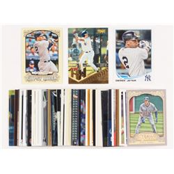 Lot of (50) Derek Jeter Baseball Cards with 2013 Topps #2, 1996 Pinnacle Foil #279 HH