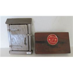 Cigar Box - House of Lords, His Excellency The Governor General, Petit Coronas and Wall mounted note