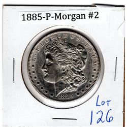 1885 P U.S. MORGAN DOLLAR