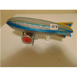 VINTAGE ZEPPELIN WIND UP TOY