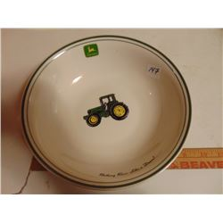 JOHN DEERE LARGE SERVING BOWL