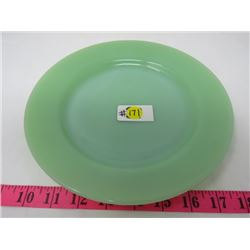 JADE GREEN FIRE KING PLATE