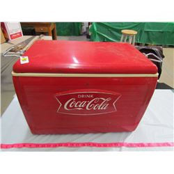 COKE COOLER BY ST. THOMAS METAL SIGNS - PATENT PENDING