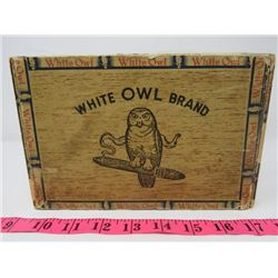 WHITE OWL CIGAR BOX