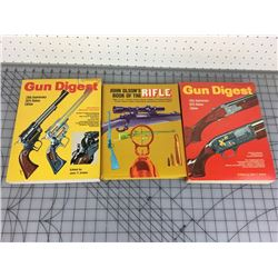 LOT OF 3 LARGE GUN RELATED BOOKS