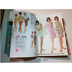 1964 RARE MCCALLS FASHION PATTERNS, *HUGE MAGAZINE*