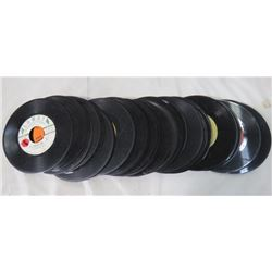 LOT OF 45 RPM RECORDS (NO SLEEVES)
