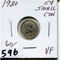 1920 CNDN SMALL SILVER NICKEL