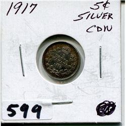 1917 CNDN SMALL SILVER NICKEL