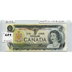 1973 CNDN ONE DOLLAR NOTE