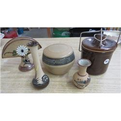 LOT OF STONEWARE