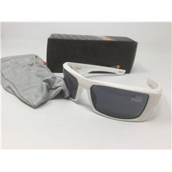 """White Spy Sunglasses- """"The Dirk"""" with case"""