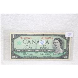 Canada One Dollar Bill (1)