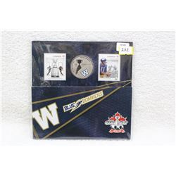 Winnipeg Blue Bombers Grey Cup Commemorative Quarter