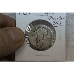U.S.A. Quarter Dollar Coin (1)