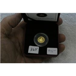 Canada 1/25 Ounce (1.27 grams) Gold Coin
