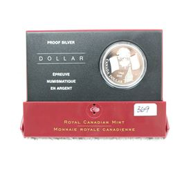 Canada Proof Silver Dollar