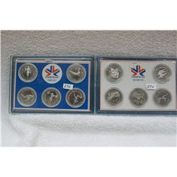 Edmonton Commonwealth Games Medallions (10)