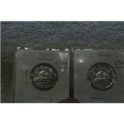 Canada Five Cent Coins (2)