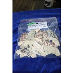 Bag of 10 - Sets of Herbert Schmidt Hand Gun Grips