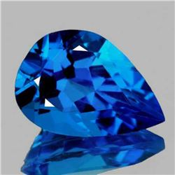 NATURAL AAA SWISS BLUE TOPAZ 17x12 MM - FL