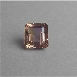 BEAUTIFUL CERTIFIED 12.5 CT RARE  UNHEATED  AMETRINE.